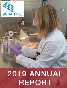 2019 APHL Annual report Cover